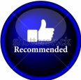 stock-vector-recommended-icon-