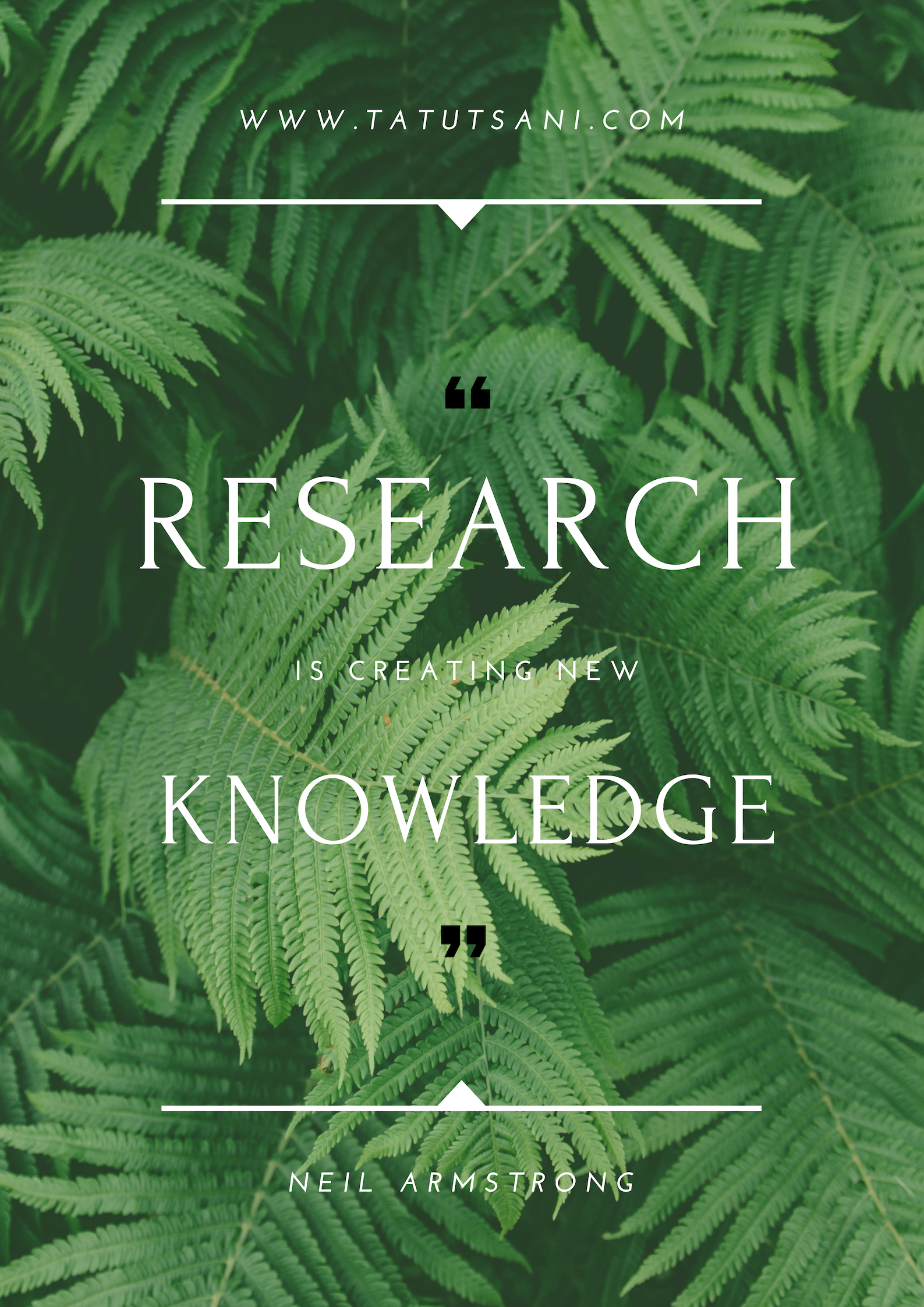 Research is creating new Knowledge